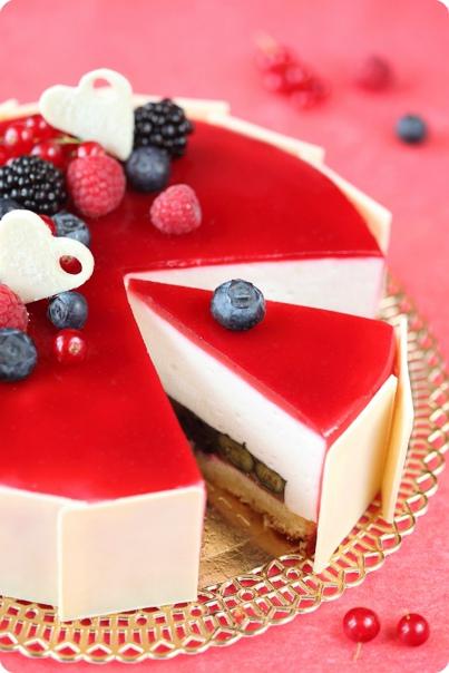"""Торт """"Пёстрая лента"""", изображение №3"""