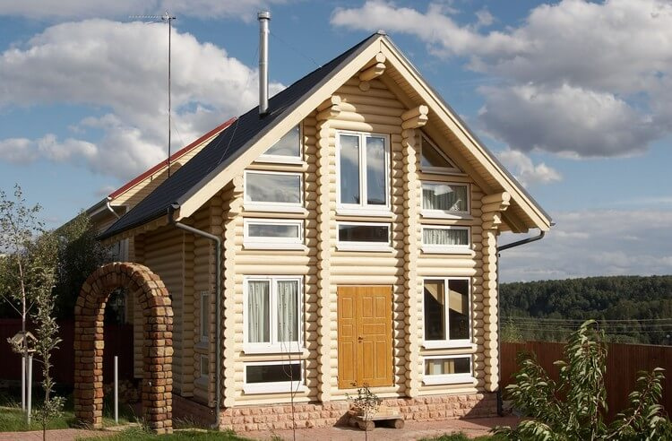Пластиковые окна для деревянных коттеджей, изображение №2