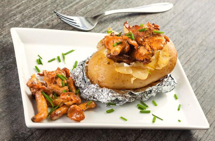 Печеный картофель на каждый день, изображение №5