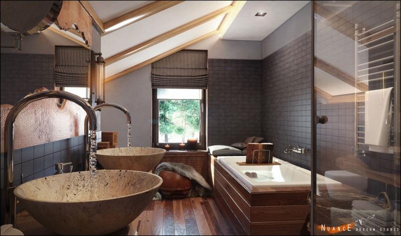 Создаем дизайн ванной комнаты для делового человека, изображение №2